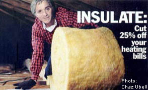 Image by Chaz Ubell: Home Insulation