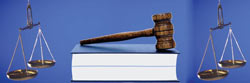 Image of gavel and scales of Justice